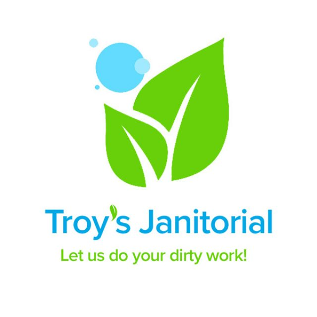 Troy's Janitorial Main Logo Simplified